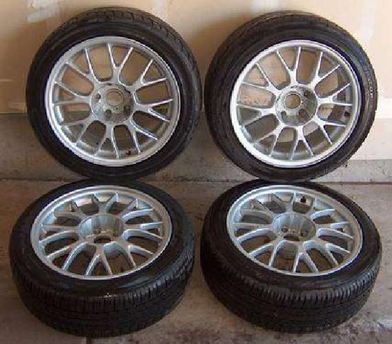 $475 BMW E39 Rims + Tires 17x7.5 DINAN 5 series M5 540 528 Made in England
