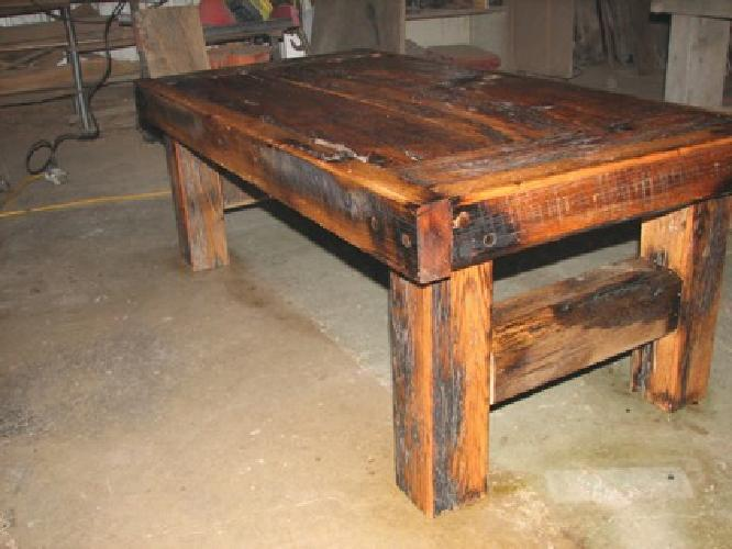 475 rustic barn wood coffee table for sale in springfield With barn wood coffee table for sale