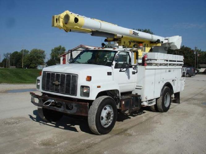 $47,500 Altec L42M-E48-2002 Chevy C8500 4x2 Bucket Truck