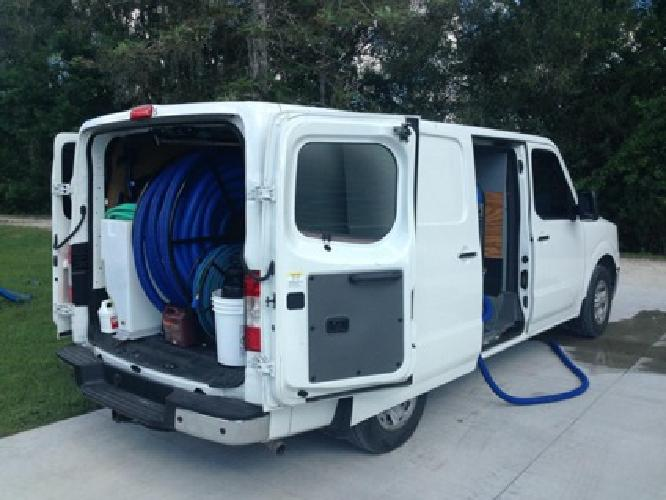 47 500 Carpet Cleaning Business Equipment 2012 Nissan