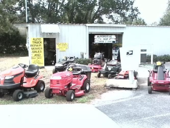 $49,000 Outdoor Power Equipment Repair Business for Sale