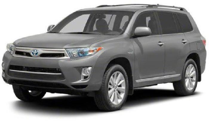 $49,484 2013 Toyota Highlander Hybrid Limited