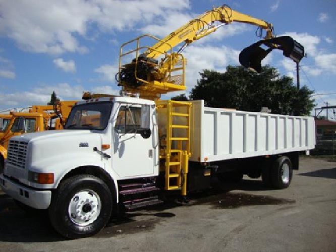 49 500 2001 Heavy Duty Grapple Truck For Sale Log Loader