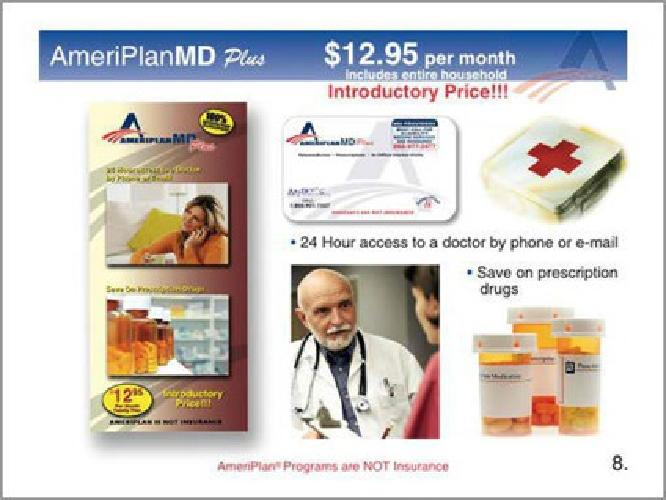 $49.95 Save up to 80% on Your Families Medical Needs for ONLY $49.95 per month