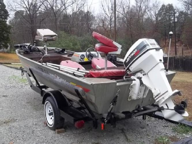 4 000 17ft Duracraft Bass Crappie All Alum Boat For Sale