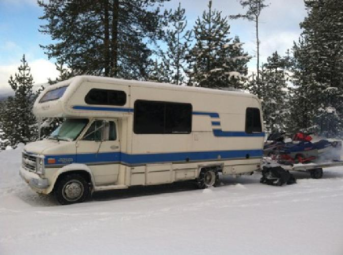 $4,000 1986 22ft Lazy Daze RV - Reliable, comfortable rig