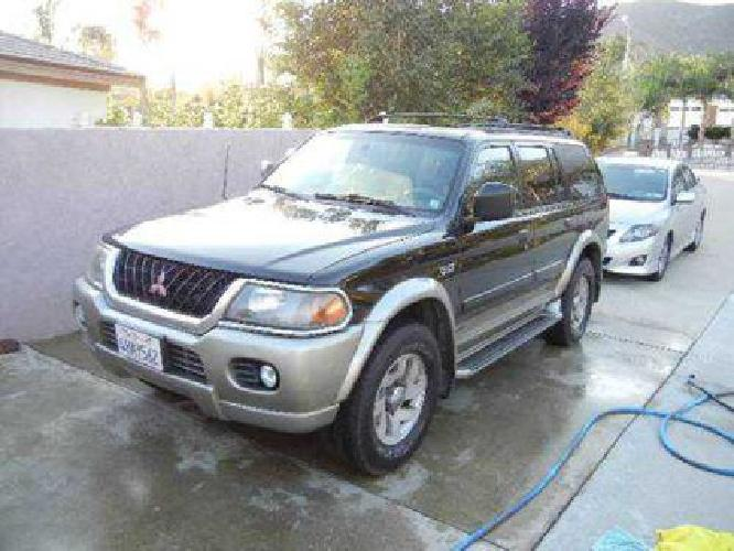 montero sport xls for sale in rancho cucamonga montero sport