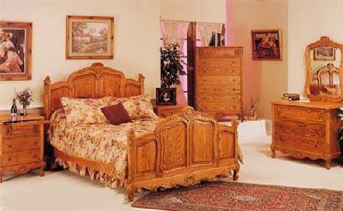 Oak King Bedroom Set
