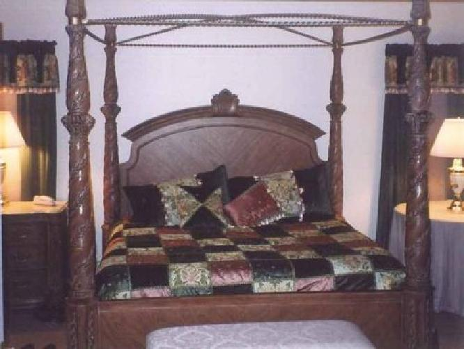 4 000 Bernhardt 6 Piece King Size Bedroom Set For Sale In Howell New Jersey Classified