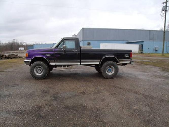 4 000 Nice 1989 F250 4x4 Lifted For Sale In Spencer West