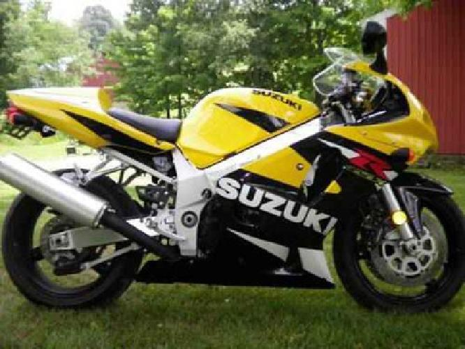 4 100 2001 suzuki gsxr 600 for sale in dover ohio classified. Black Bedroom Furniture Sets. Home Design Ideas