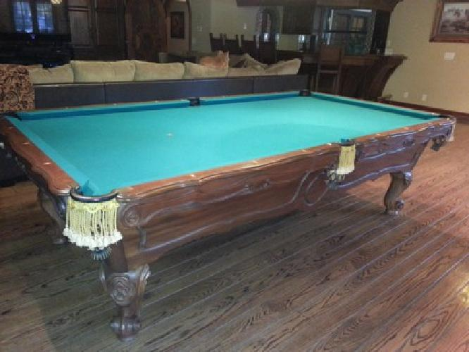 Brunswick Orleans Pool Table For Sale In Temecula - New brunswick pool table