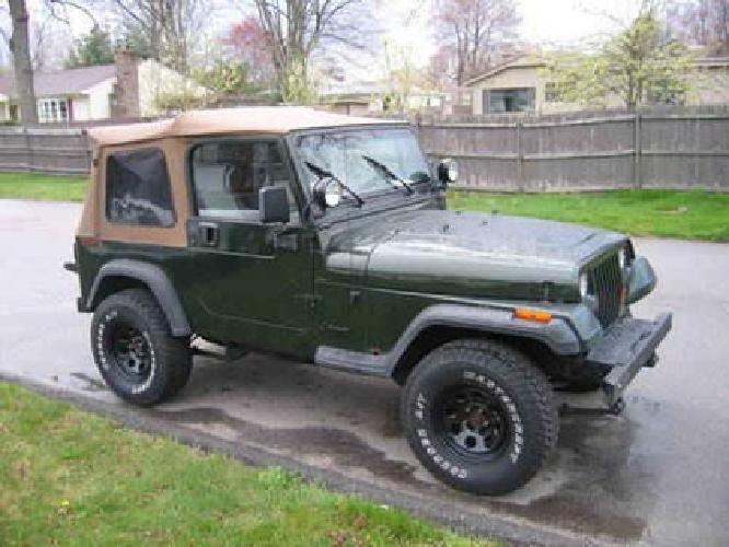 4 200 1995 jeep wrangler rio grande for sale in johnston. Black Bedroom Furniture Sets. Home Design Ideas