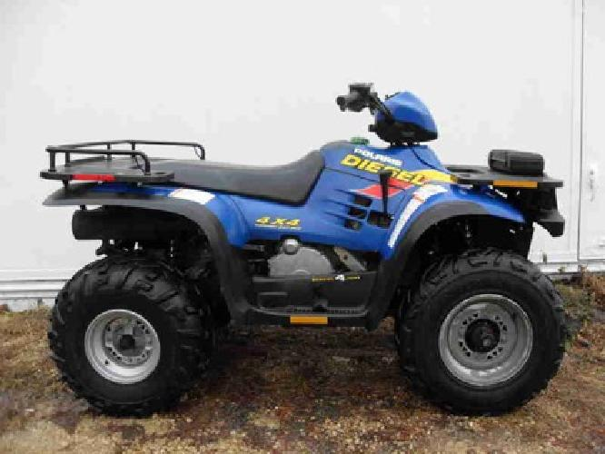 4 200 1999 polaris 455 diesel 4x4 four 4 wheeler rare ellsworth wi for sale in minneapolis. Black Bedroom Furniture Sets. Home Design Ideas