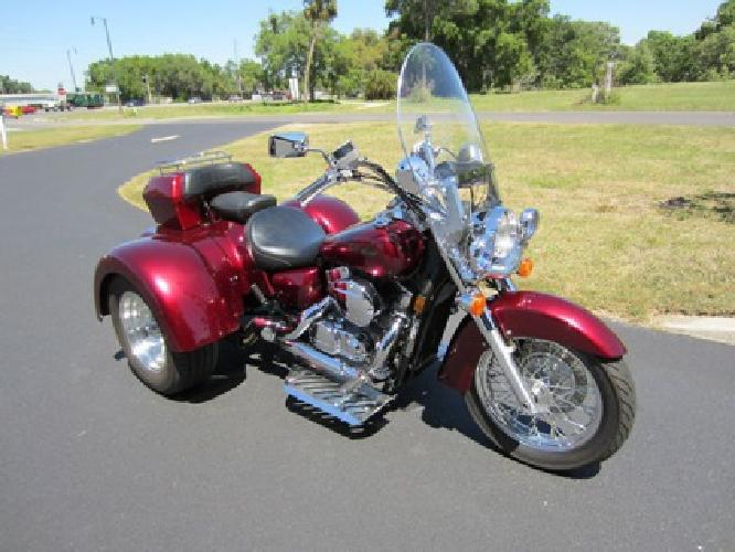 $4,200 2005 Honda Shadow Spirit 750 Trike