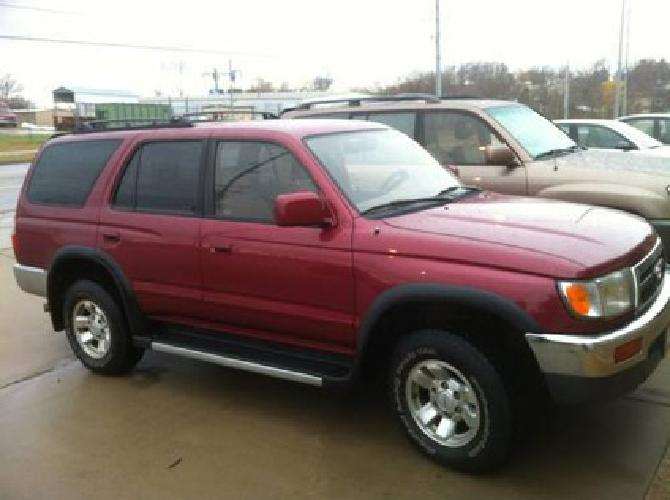 4 300 1997 toyota 4runner sr5 for sale in fort smith arkansas classified. Black Bedroom Furniture Sets. Home Design Ideas