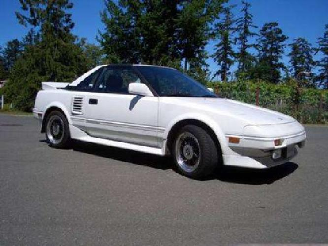 $4,400 1988 Toyota MR2 Supercharged!