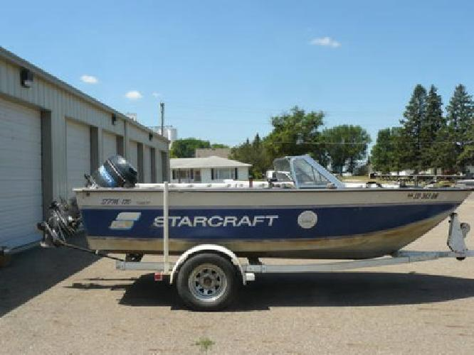 $4,499 1991 Starcraft Fishing Boat w/90 horse Mercury and much more!
