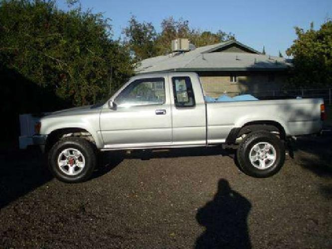 4 500 1989 toyota 4x4 xtra cab sr5 pickup for sale in avondale arizona classified. Black Bedroom Furniture Sets. Home Design Ideas