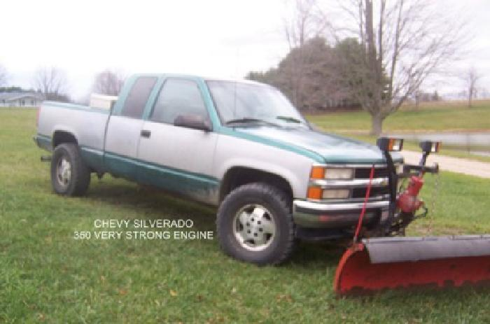 4 500 1995 chevy silverado snow plow for sale in lansing michigan classified. Black Bedroom Furniture Sets. Home Design Ideas