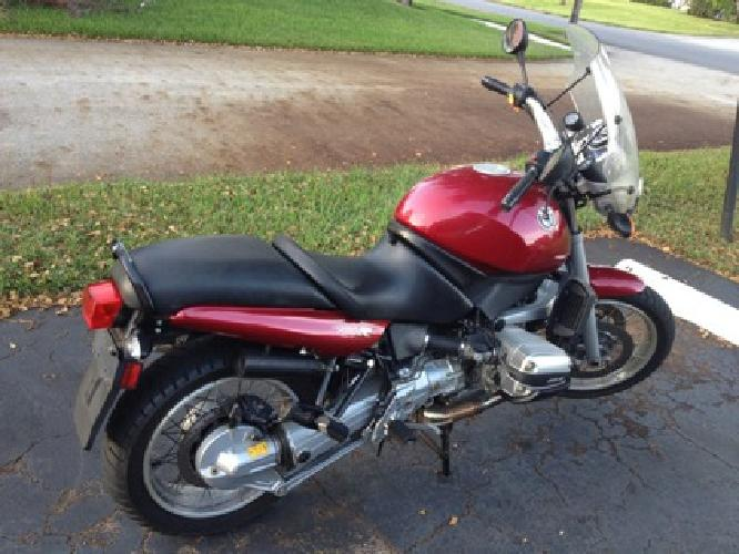 $4,500 1996 BMW R1100R in excellent condition