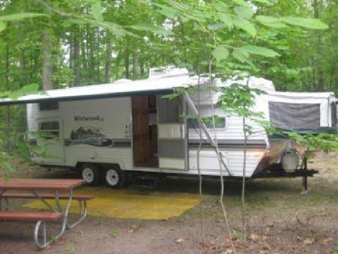 4 500 2003 Double Bunks Travel Trailer Camper Wildwood