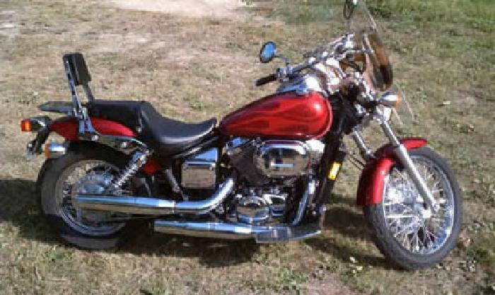 4 500 2003 honda shadow spirit 750 vt750dc excellent condition for sale in chattanooga. Black Bedroom Furniture Sets. Home Design Ideas