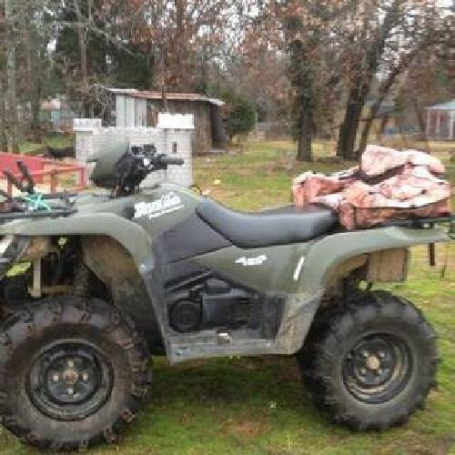 $4,500 2007 Suzuki king quad 700 4x4