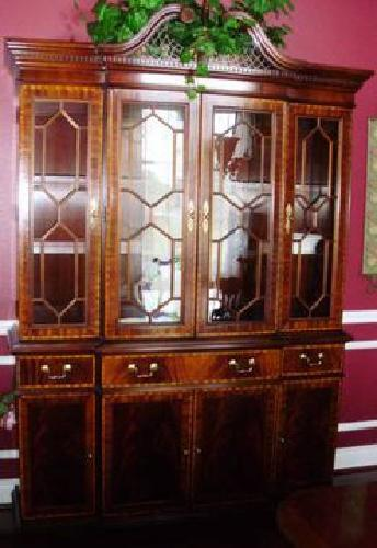 $4,500 China Cabinet   Hickory Chair James River Collection