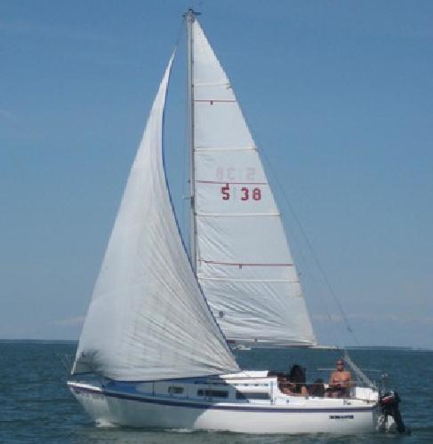 $4,500 OBO Catalina 25 Sailboat