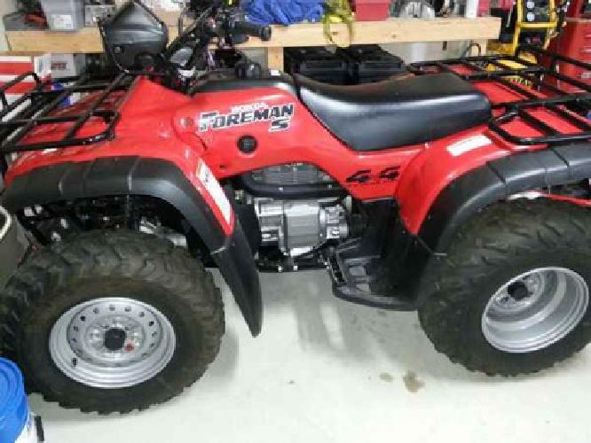 4 599 2003 Honda Foreman 450 Lino Lakes For Sale In