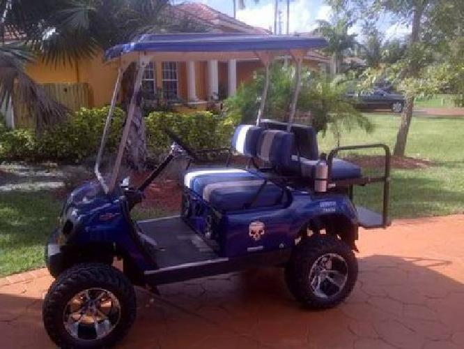 4 600 yamaha golf cart for sale in fort lauderdale for Yamaha golf cart dealers in florida