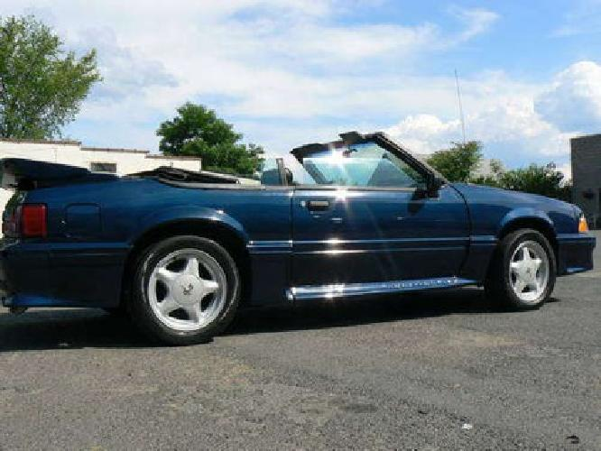 $4,800 Fun Car Look Here!!!1988 Ford Mustang Gt Convertible 5-Speed