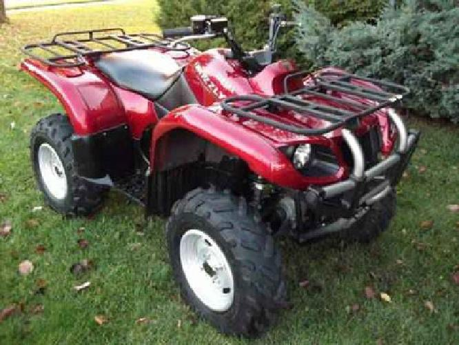 $4,800 Yamaha Grizzly 660 4x4 Limited Edition
