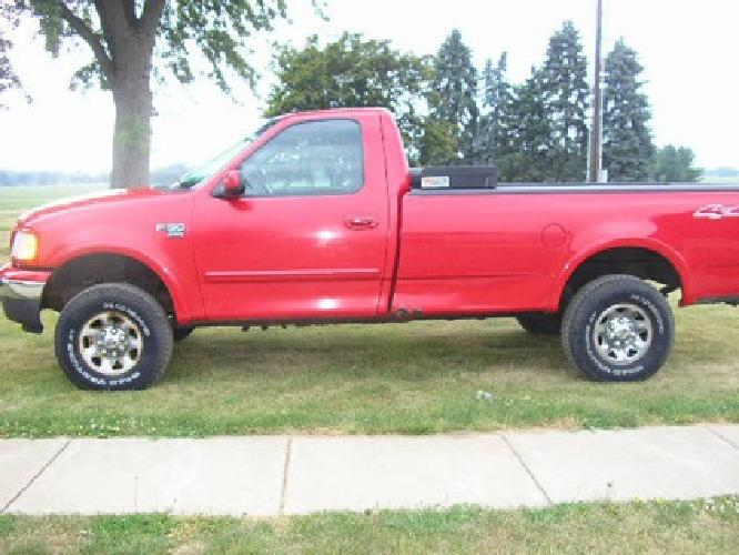 4 900 ford f150 7700 series 2000 4 wheel drive for sale in marshall michigan classified. Black Bedroom Furniture Sets. Home Design Ideas