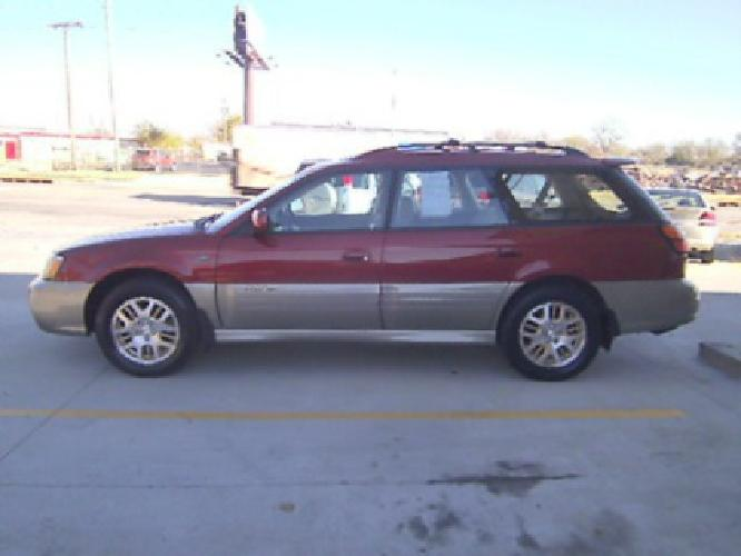 $4,950 2003 Subaru Legacy Outback Wagon AWD L.L. Bean Edition