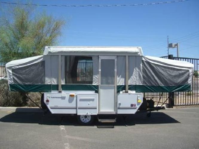 4 995 08 fleetwood coleman pop up clean cheap and just 1645 lbs for sale in phoenix