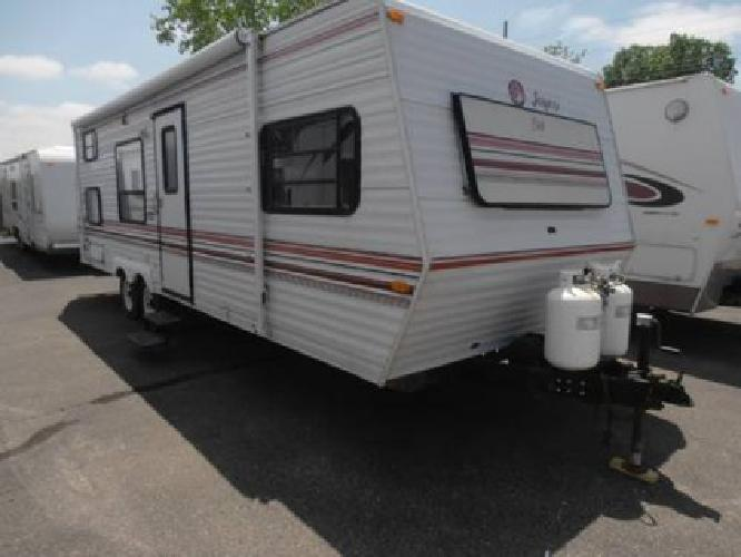 Excellent Jayco Has Redesigned The Structural Makeup And Added Five New Floorplans To Make The Eagle Travel Trailers Series More Affordable And  These Include A CD Stereo In The Bunkhouse On Select Models, Double Bunk Beds In Select Models,