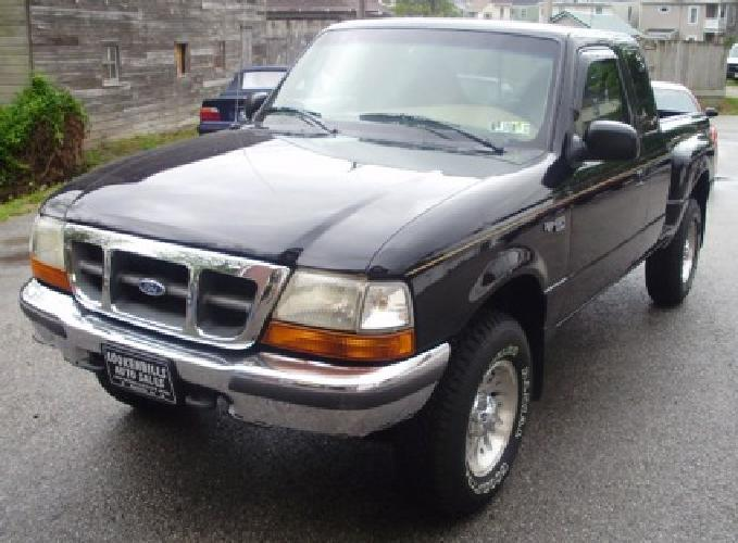 $4,995 1998 Ford Ranger, XLT X-Cab 4x4