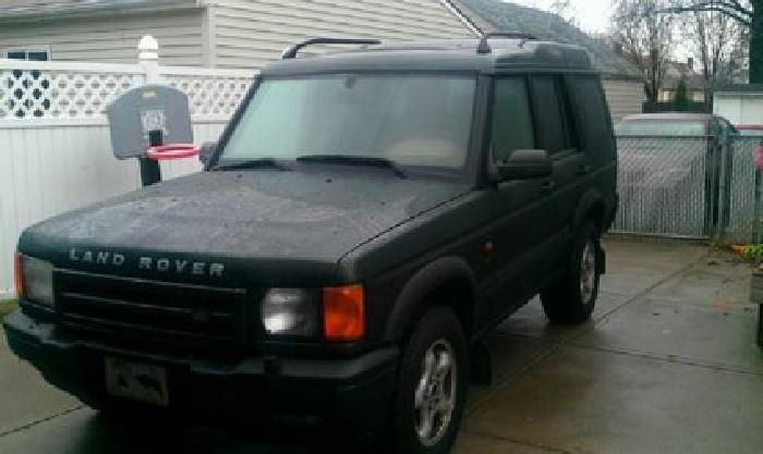 4 995 2001 Land Rover Discovery Hunter Green Tan Leather Interior For Sale In Cleveland
