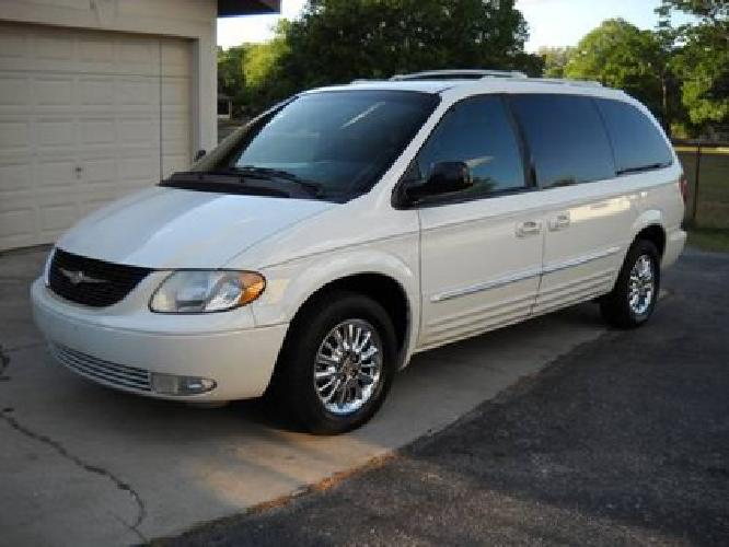 4 995 2002 chrysler town and country limited edition clean for sale. Cars Review. Best American Auto & Cars Review