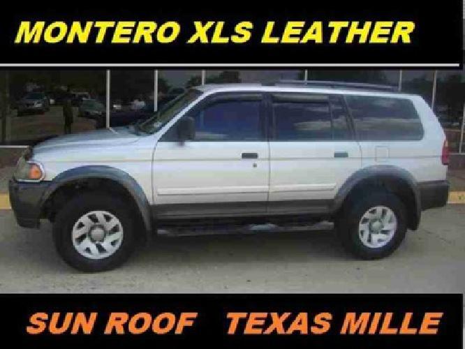 $4,995 2002 Mitsubishi Montero Sport 4dr XLS
