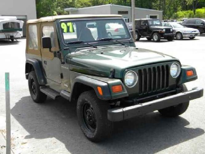 4 995 used 1997 jeep wrangler for sale for sale in hampton falls. Black Bedroom Furniture Sets. Home Design Ideas