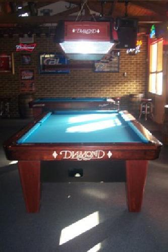 Foot Diamond Smart Table And Foot Diamond Overhead Pool - Diamond smart table for sale