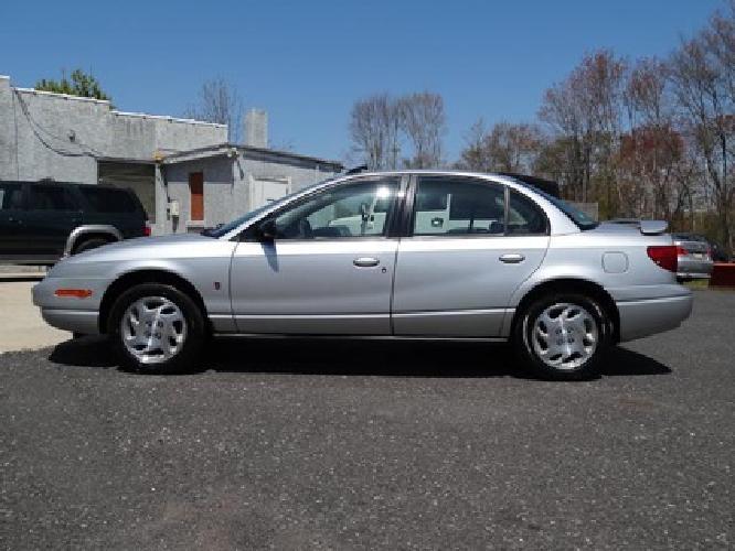 $4,999 2002 Saturn SL2 Sedan
