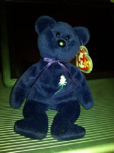 592c1396c7c Authenticated Princess Diana Beanie Baby 1st Edition