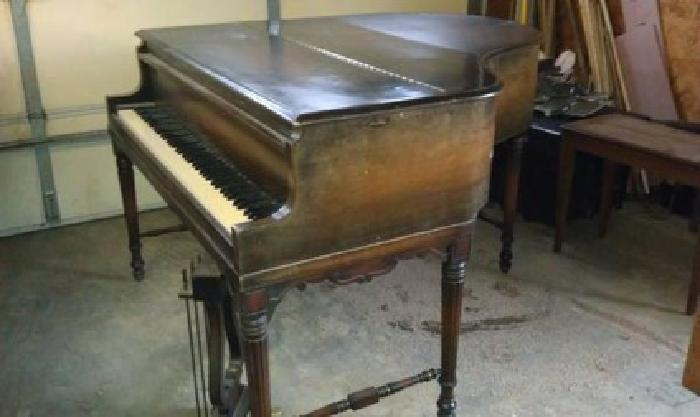 500 1957 Starck Baby Grand Piano For Sale In Herrick