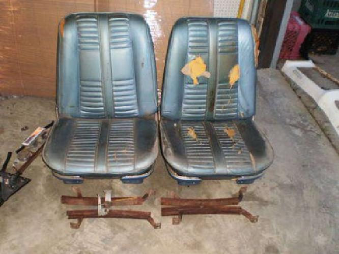 Real 1967 72 Gto Bench Seat Orig 4177 Hurst 4sp Shifter
