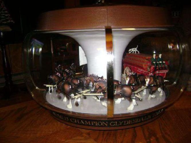$500 1969 Budweiser Clydesdale Parade Carousel Motion Light (Waynesville)