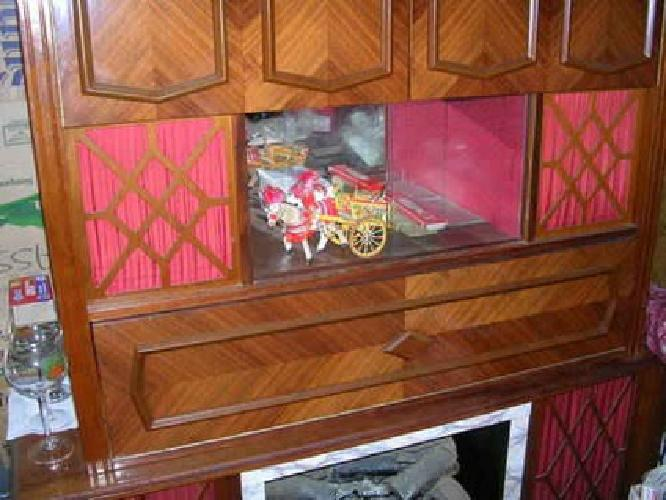 500 Entertainment Center Lights Up Has Bar Faux Fireplace Like New For Sale In Brewster New